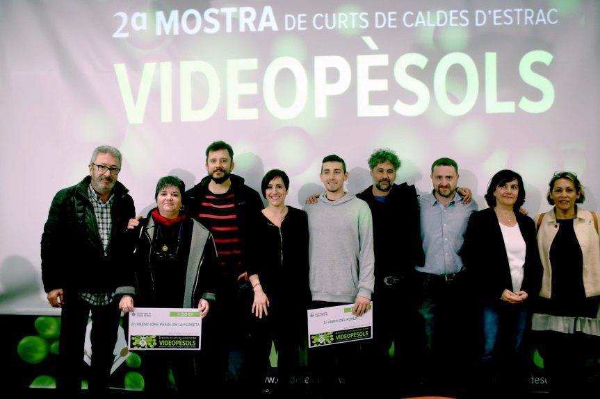 Curts guanyadors de la 2a edició deVideopèsols